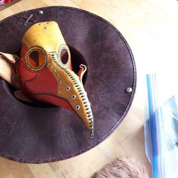Halloween Plague Doctor Mask