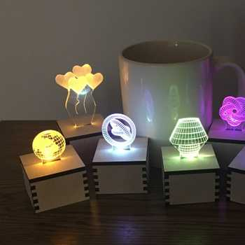 Edge Lit Illusion Votives