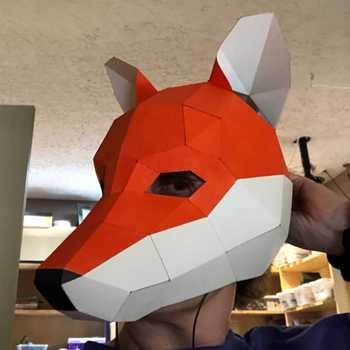 """Savage Fox Club"" Mask for Gkid"