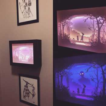 Shadowbox Art