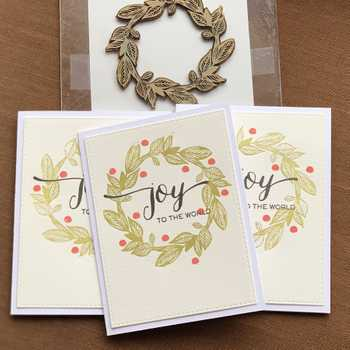 Letterpress Christmas cards (again)