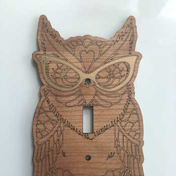 Owl Light Switch Plate Cover!