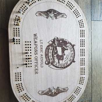 Submariner Cribbage Board