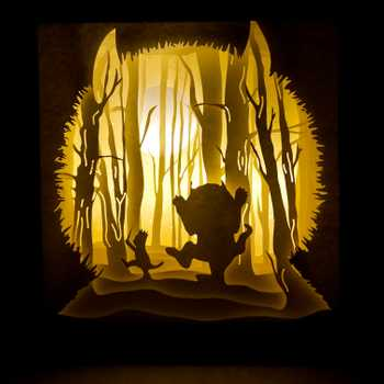 Wild Things Light Box
